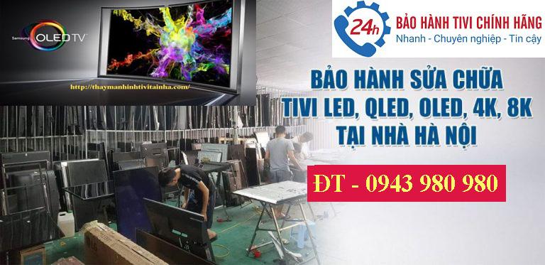 sửa tivi 4k smart tivi