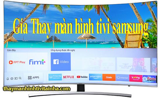 thay màn hình tivi samsung tại nhà